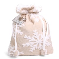 Christmas Storage Bag Deluxe Taupe