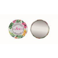 Button with mirror 56 mm