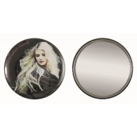 Button with mirror 75 mm