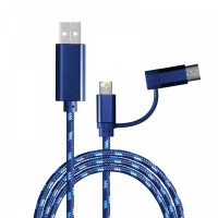 Charging cable with 3-in-1 REEVES-ASSISI