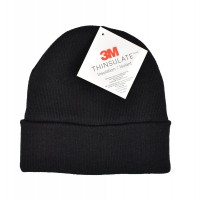 Knitted Winter Hat Thinsulate black
