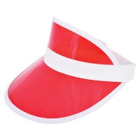 Sun visor with PVC Peak
