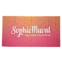 Sophie Muval Towel with Polyester Border White400 gr/m2
