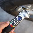 All in one digital tire gauge
